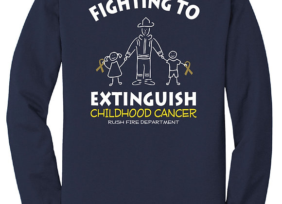 Childhood Cancer Awareness LS Tee