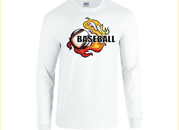 Baseball LS Flame