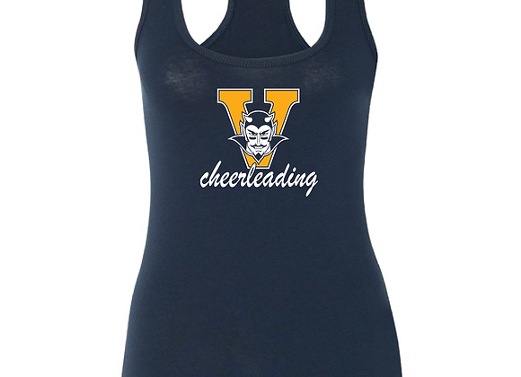 Victor Cheer Fitted Tank