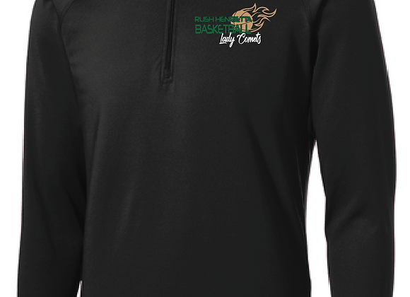 RH Lady Comets BB - 1/2 Zip Pullover