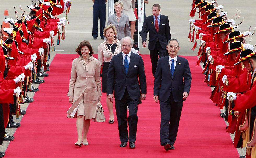 Royal  Swedish Visit to South Korea