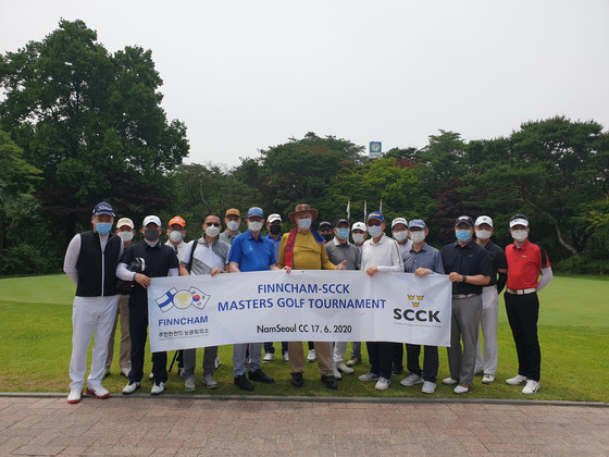 FINNCHAM-SCCK Masters Golf Event. NamSeoul CC. June 17. 2020