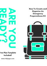 How to Create and Organize an Emergency Preparedness Kit
