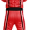 Macacão vermelho ADL2K21 Costas Adelante Sports Kart