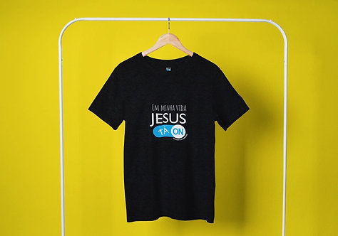 CAMISETA JESUS TA ON DRY FIT