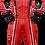 Macacão vermelho ADL2K21 Frente Adelante Sports Kart