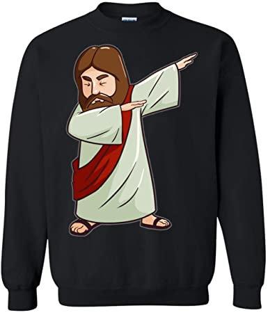 BLUSA DE MOLETOM JESUS ANIMATION