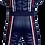 Macacão azul ADL2K21 Costas Adelante Sports Kart