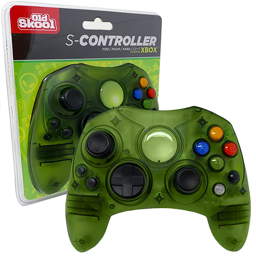 XBOX CONTROLLER S-TYPE WIRED GAME PAD - GREEN