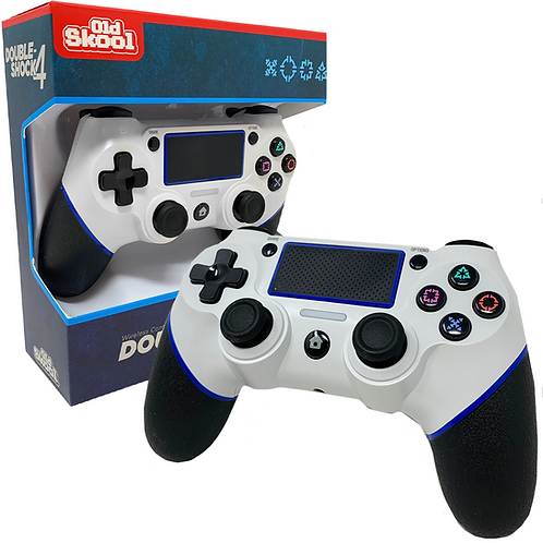 DOUBLE-SHOCK 4 WIRELESS CONTROLLER FOR PS4 - ARCTIC WHITE