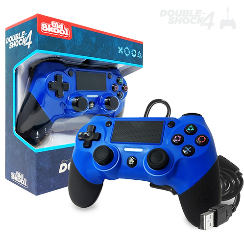 DOUBLE-SHOCK 4 Wired Controller (ADMIRAL BLUE)