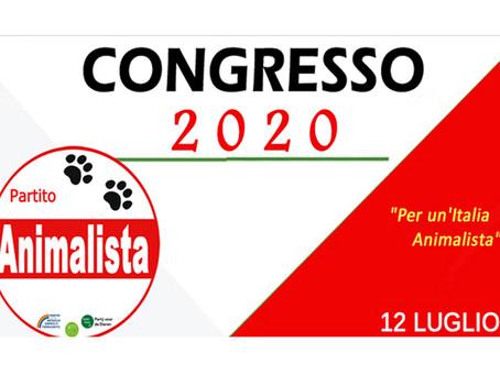 Comunicazione agli ISCRITTI del Partito per il Congresso 2020