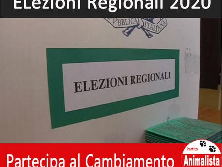 Regionali 2020: Partecipa al Cambiamento con il Partito Animalista Italiano