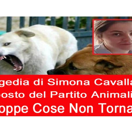 COMUNICATO STAMPA: Tragedia di Simona Cavallaro Troppe Cose non Tornano, il PAI presenta Esposto