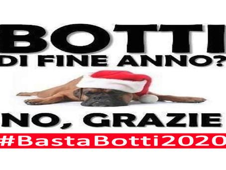 """COMUNICATO STAMPA: Parte Ufficialmente la Campagna """"Basta Botti 2020"""" del Partito Animalista"""