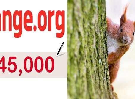 La Petizione Mondiale della Animals Polics EU arriva a 45.000 firme, CONTINUIAMO A FIRMARE !!