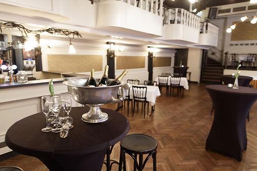 Feesten, bruiloften, receptie, babyborrel bij Zaal van der Hooft