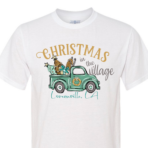Christmas In the Village - vintage