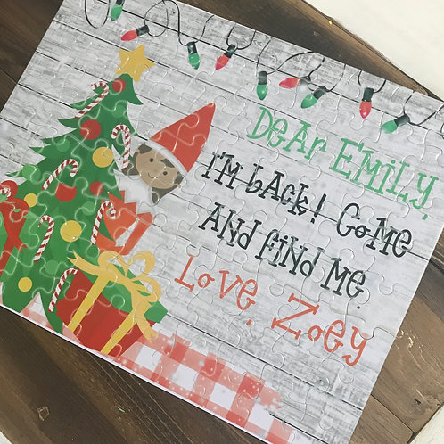 Personalized Elf Puzzle