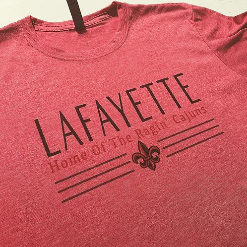 Lafayette  - Home of the Ragin' Cajuns