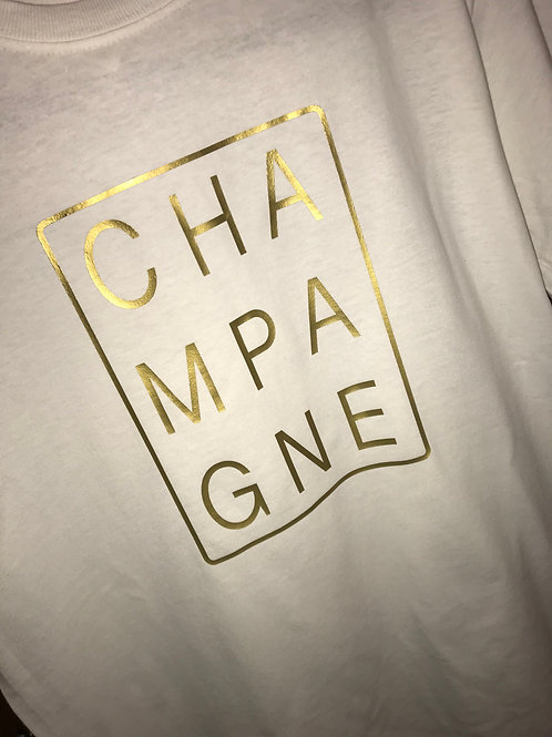 CHAMPAGNE TEE