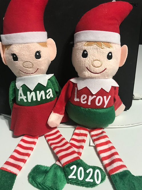 Personalized Plush Elf