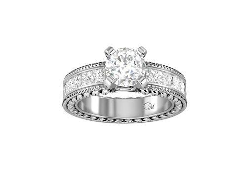 Fancy Brilliant-Cut Diamond Ring - RP0054