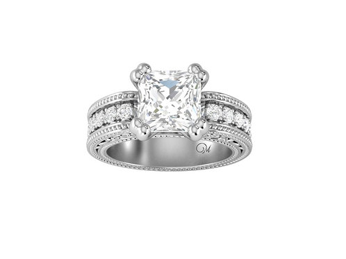 Princess-Cut Diamond Ring - RP0084.01