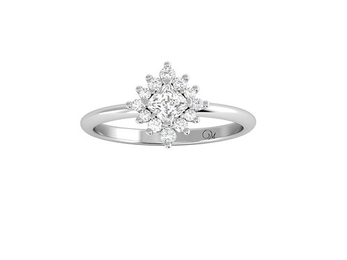 Princess-Cut Diamond Ring - RP2855