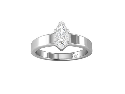 Marquise-Cut Diamond Solitaire - RP0049