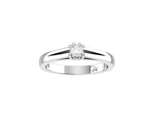 Petite Fancy Diamond Ring - RP2088