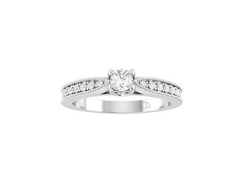 Petite Fancy Diamond Ring - RP2066