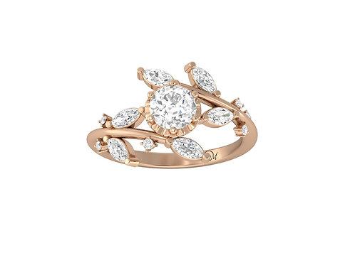 Brilliant-Cut Diamond Ring - RP2847
