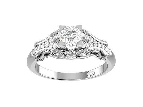Vintage Brilliant-Cut Diamond Ring - RP1720