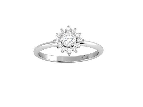 Brilliant-Cut Diamond Ring - RP2856