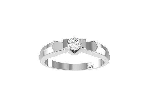 Petite Brilliant-Cut Diamond Ring - RP2113