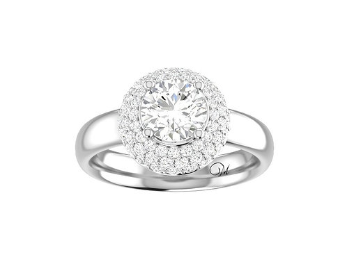 Brilliant-Cut Diamond Ring - RP1101