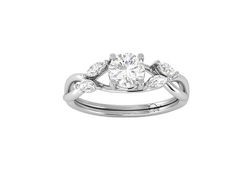 Brilliant-Cut Diamond Ring - RP2857