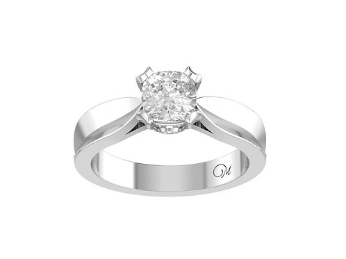 Cushion-Cut Diamond Ring - RP0107