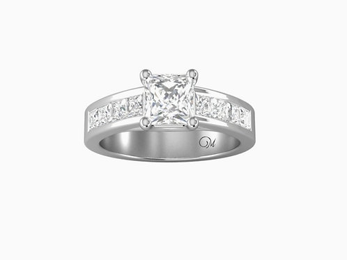 Princess-Cut Diamond Ring - RP0099