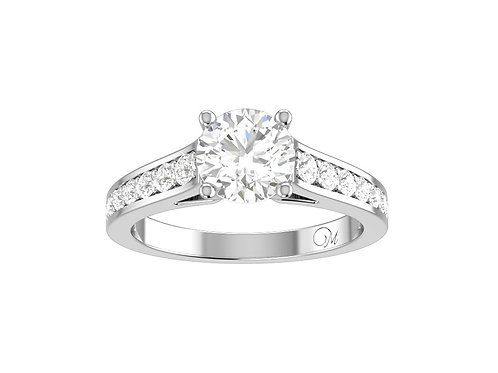 Classic Brilliant-Cut Diamond Ring - RP1820