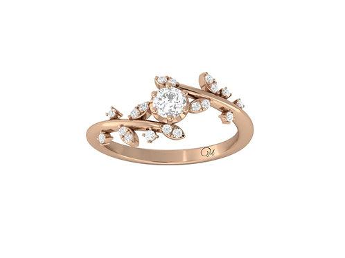 Petite Brilliant-Cut Diamond Ring - RP2847.01