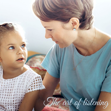 The art of listening: Moving from telling your child what to do to hearing what they are saying
