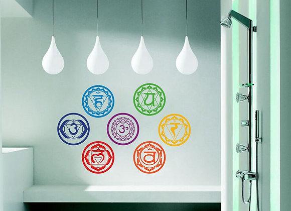 Chakra Wall Stickers
