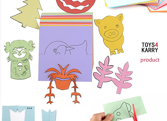 Kidz Craft Paper Folding, Cutting, Coloring & More