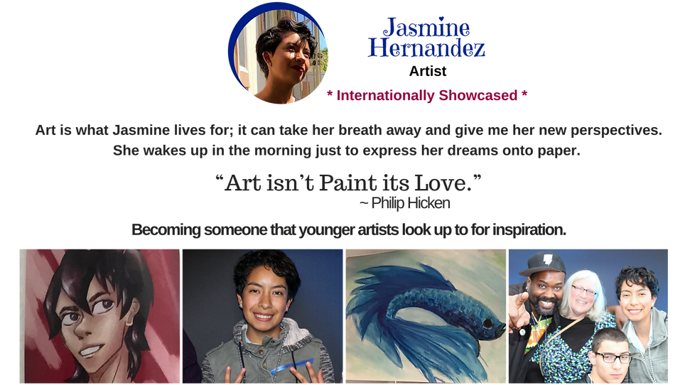 Jasmine Hernandez International Web Bio.