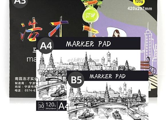 Drawing & Coloring Paper Pad