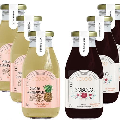 Assorted Drinks x6