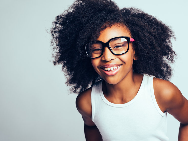 Image of gifted child smiling