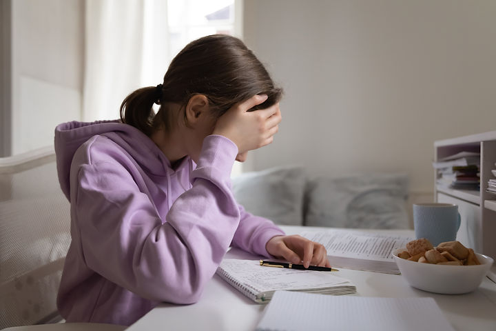 Image of youth with learning difficulties who seeks psychological assessment